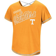 Colosseum Youth Girls' Tennessee Volunteers Tennessee Orange Little Giants Dolman T-Shirt