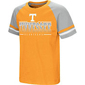 Colosseum Youth Tennessee Volunteers Tennessee Orange/Grey Rad Tad Raglan T-Shirt