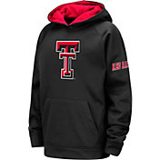 Colosseum Youth Texas Tech Red Raiders Pullover Black Hoodie