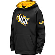 Colosseum Youth VCU Rams Fleece Pullover Black Hoodie