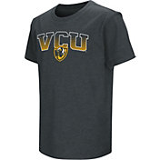 Colosseum Youth VCU Rams Dual Blend BlackT-Shirt
