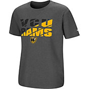 Colosseum Youth VCU Rams Grey Junior T-Shirt
