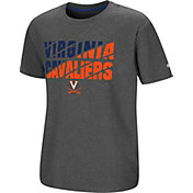 Colosseum Youth Virginia Cavaliers Grey Junior T-Shirt