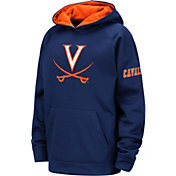 Colosseum Youth Virginia Cavaliers Blue Fleece Pullover Hoodie