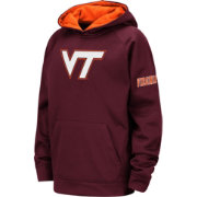 Colosseum Youth Virginia Tech Hokies Maroon Fleece Pullover Hoodie