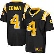 Colosseum Youth Iowa Hawkeyes Foos-Ball Football Black Jersey