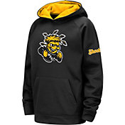 Colosseum Youth Wichita State Shockers Fleece Pullover Black Hoodie