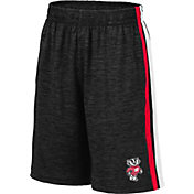 Colosseum Youth Wisconsin Badgers Grey Mendoza Shorts