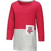 Colosseum Toddler Girls' Wisconsin Badgers Red/Grey Twizzle Dress