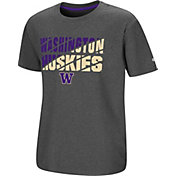 Colosseum Youth Washington Huskies Grey Junior T-Shirt