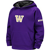 Colosseum Youth Washington Huskies Purple Pullover Hoodie