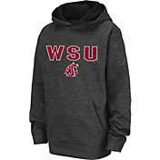 Colosseum Youth Washington State Cougars Grey Pullover Hoodie