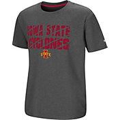 Colosseum Youth Iowa State Cyclones Grey Junior T-Shirt