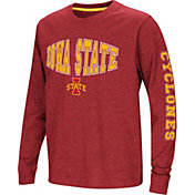 Colosseum Youth Iowa State Cyclones Cardinal Spike Long Sleeve T-Shirt