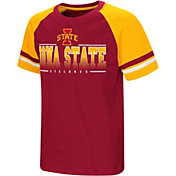 Colosseum Youth Iowa State Cyclones Cardinal/Gold Rad Tad Raglan T-Shirt