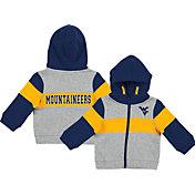 Colosseum Infant Boys' West Virginia Mountaineers Grey Snowplough Full-Zip Hoodie