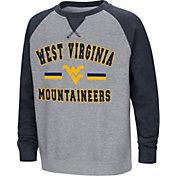Colosseum Youth West Virginia Mountaineers Grey/Blue Rudy Zoleteck Fleece Sweatshirt