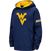 Colosseum Youth West Virginia Mountaineers Blue Fleece Pullover Hoodie