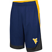 Colosseum Youth West Virginia Mountaineers Blue  Hall of Fame Shorts