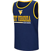 Colosseum Youth West Virginia Mountaineers Blue Legends Never Die Tank