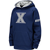 Colosseum Youth Xavier Musketeers Blue Fleece Pullover Hoodie