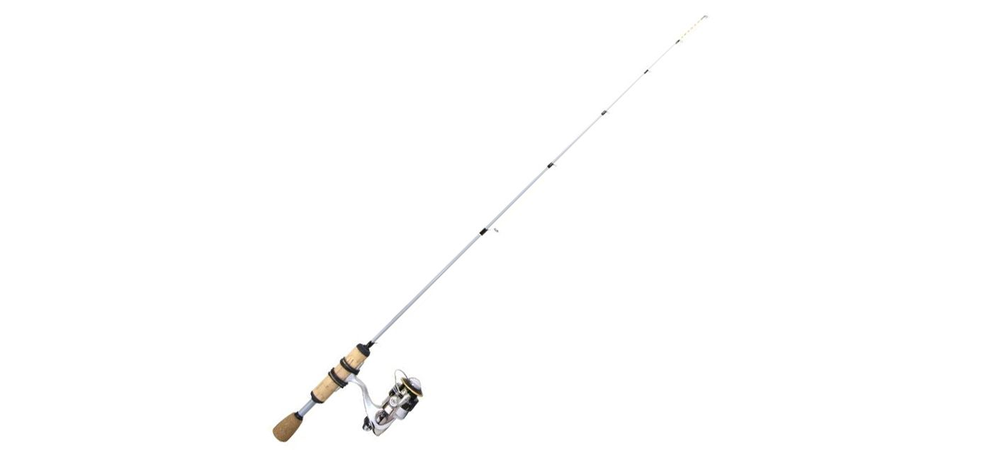 Clam James Mitchell Meat Stick Series Ice Fishing Combo