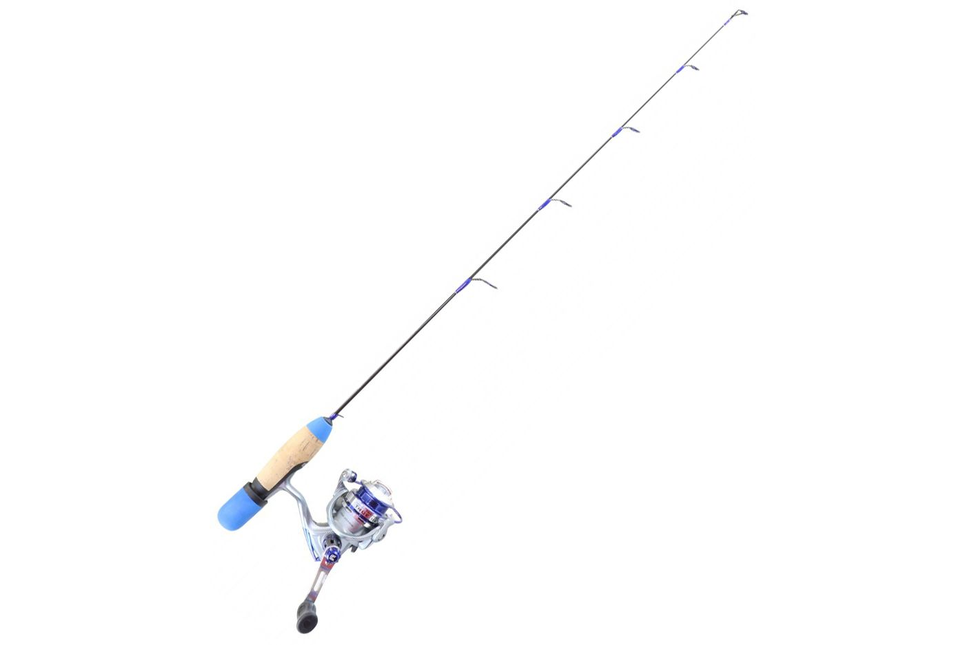 Clam Dave Genz True Blue Series Ice Fishing Combo with Spring Bobber (2018)