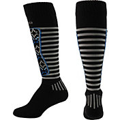 Columbia Fair Isle Stripe Medium Weight Over-the-Calf Socks
