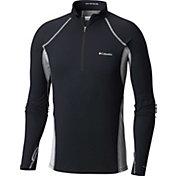 Columbia Men's Midweight Stretch Half Zip Base Layer Shirt
