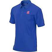 Columbia Men's Atlanta Braves Sunday Striped Polo