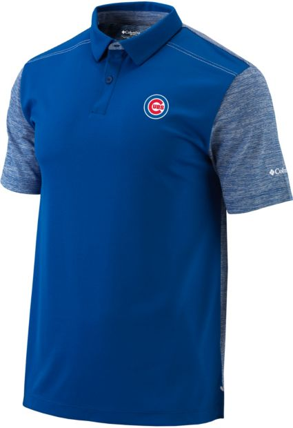 Columbia Men's Chicago Cubs Forged Omni-Freeze Polo