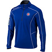 Columbia Men's Chicago Cubs Shotgun Quarter-Zip Performance Pullover