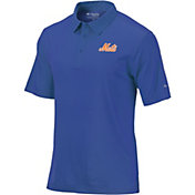 Columbia Men's New York Mets Striped Polo