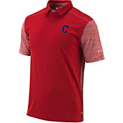 Columbia Men's Cleveland Indians Forged Omni-Freeze Polo