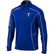 Columbia Men's Texas Rangers Shotgun Quarter-Zip Performance Pullover