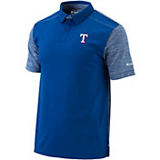 Columbia Men's Texas Rangers Forged Omni-Freeze Polo