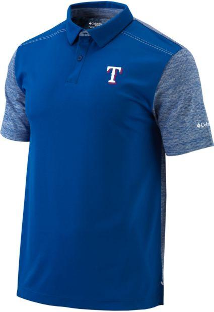 Columbia Men's Texas Rangers Forged Omni-Freeze Polo