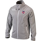 Columbia Men's Minnesota Twins Follow-Through Full-Zip Jacket