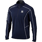 Columbia Men's New York Yankees Shotgun Quarter-Zip Performance Pullover