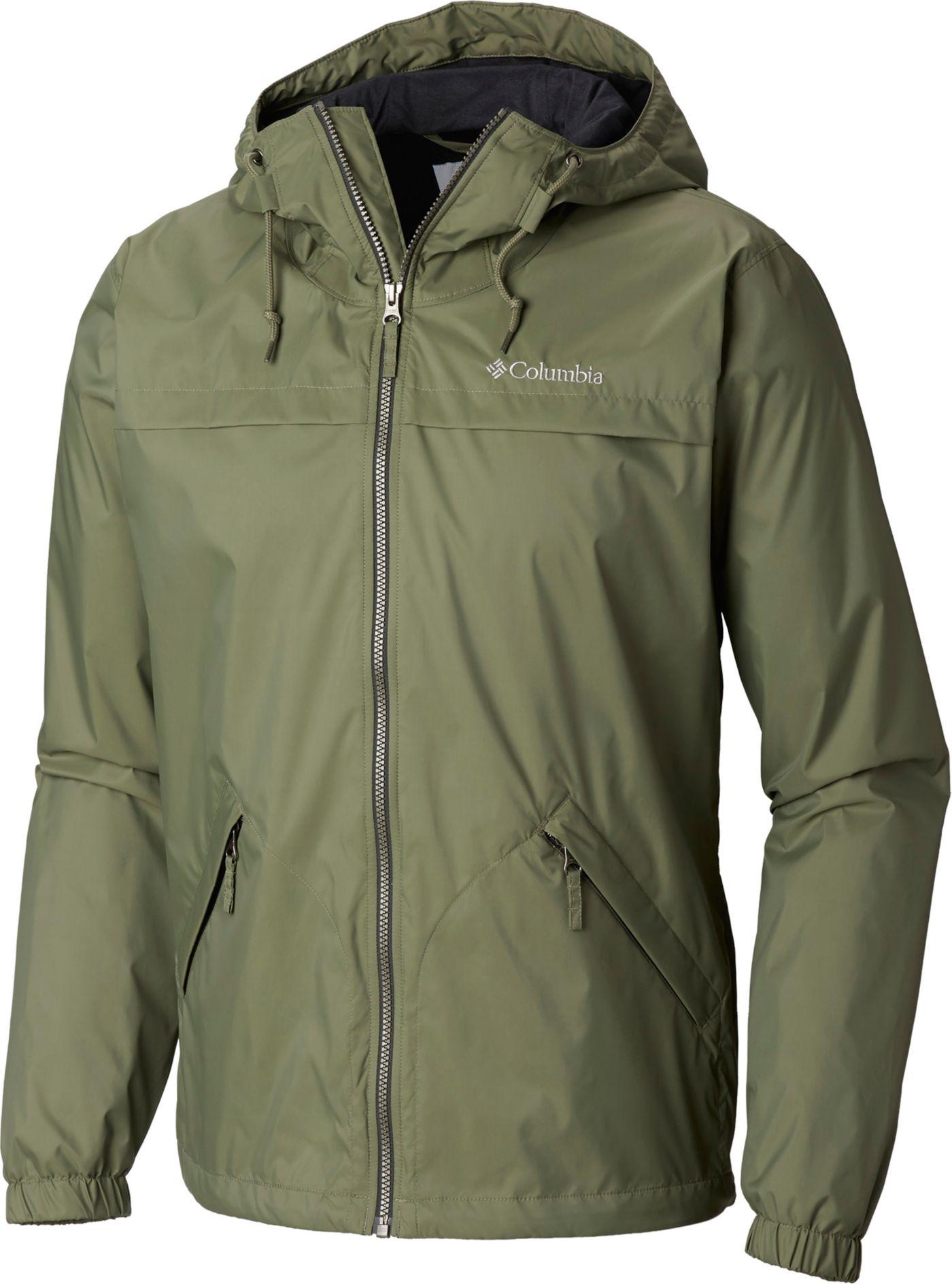 Columbia Men's Oroville Creek Lined Rain Jacket (Regular and Big & Tall)