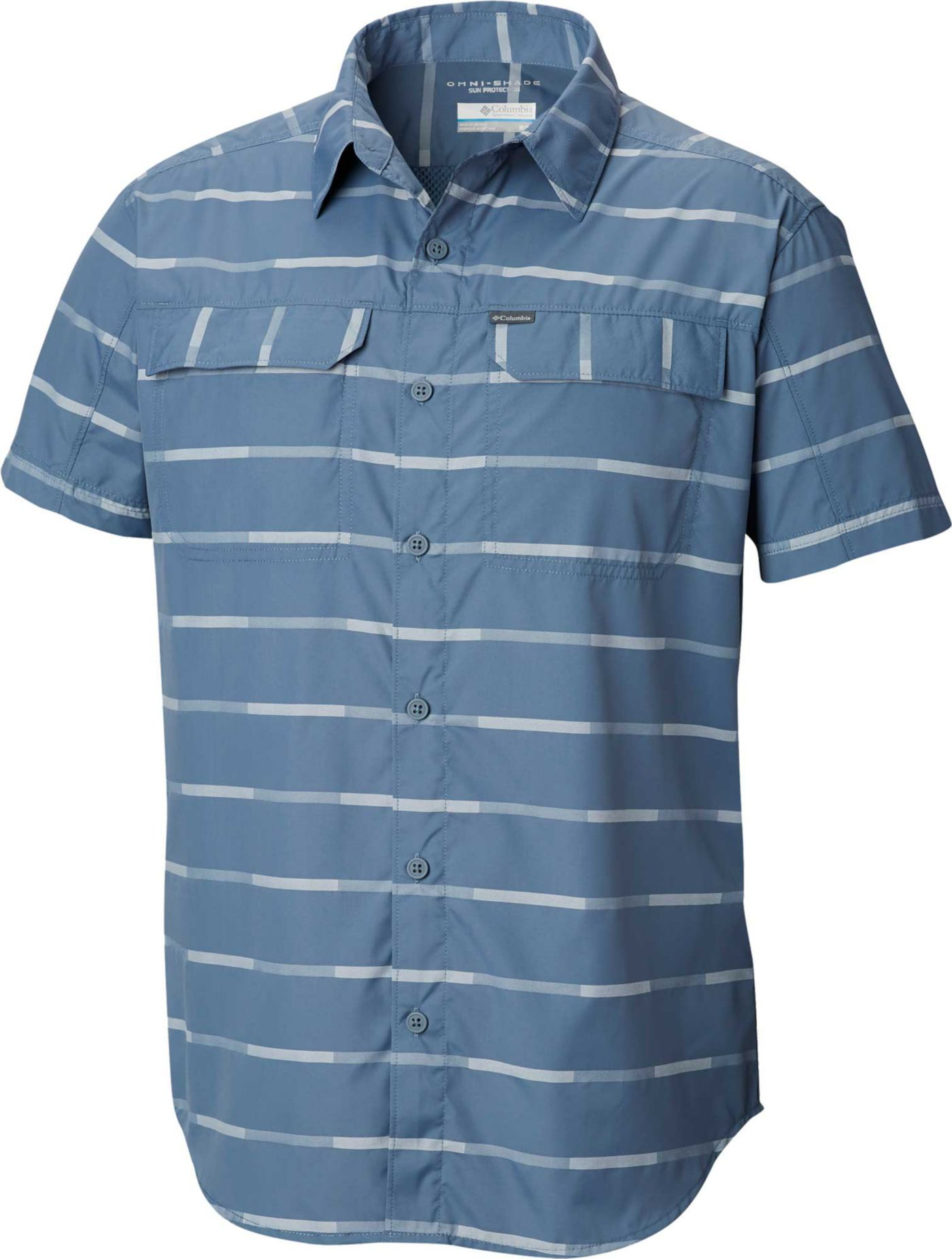 Columbia Men's Silver Ridge 2.0 Plaid Short Sleeve Shirt