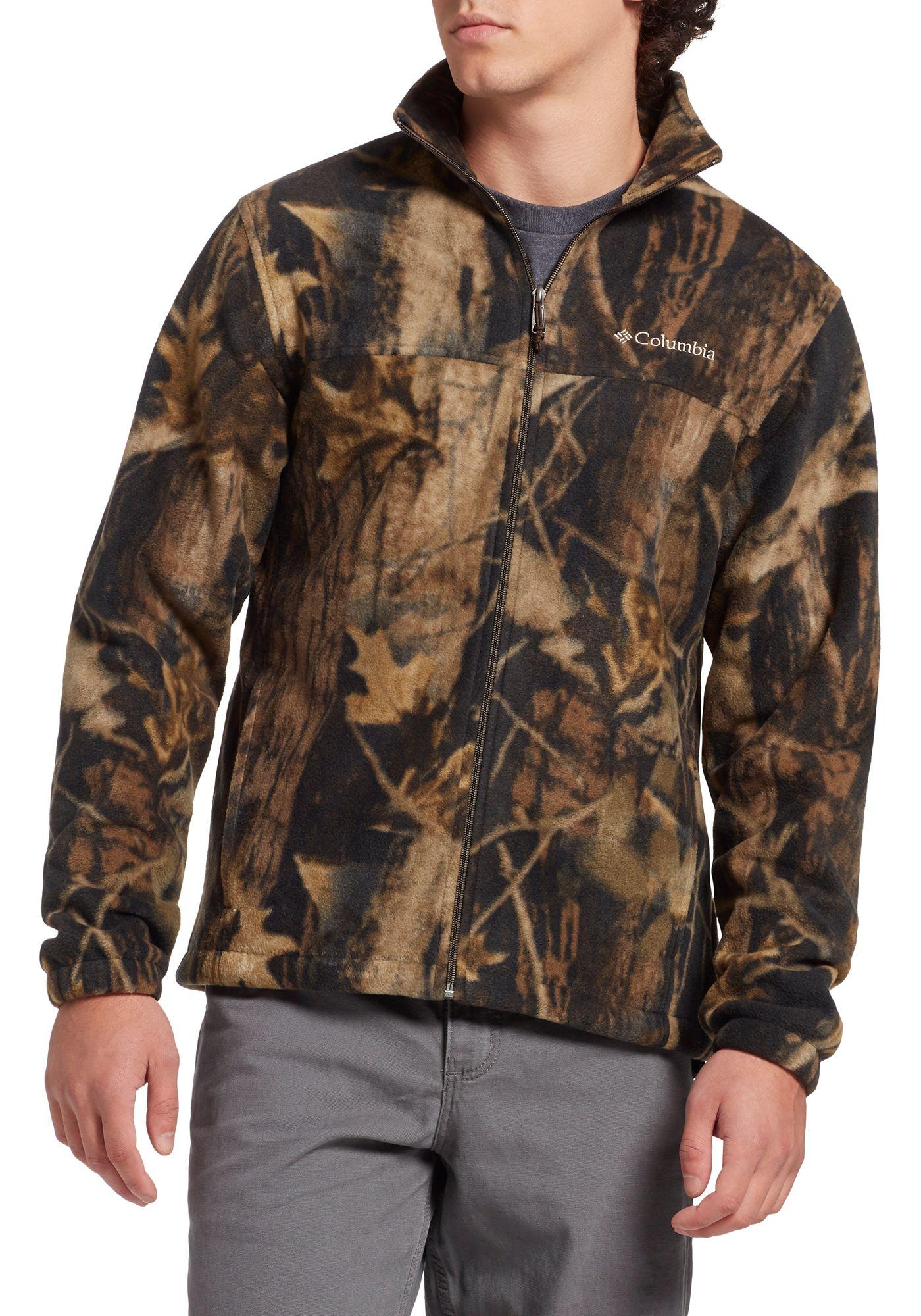 Columbia Men's Steens Mountain Print Fleece Jacket