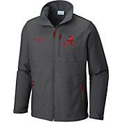 Columbia Men's Alabama Crimson Tide Grey Ascender Jacket