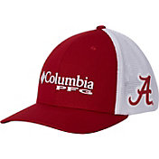 Columbia Men's Alabama Crimson Tide Crimson/White PFG Mesh Fitted Hat
