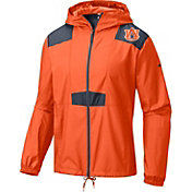 Columbia Men's Auburn Tigers Orange Flashback Windbreaker
