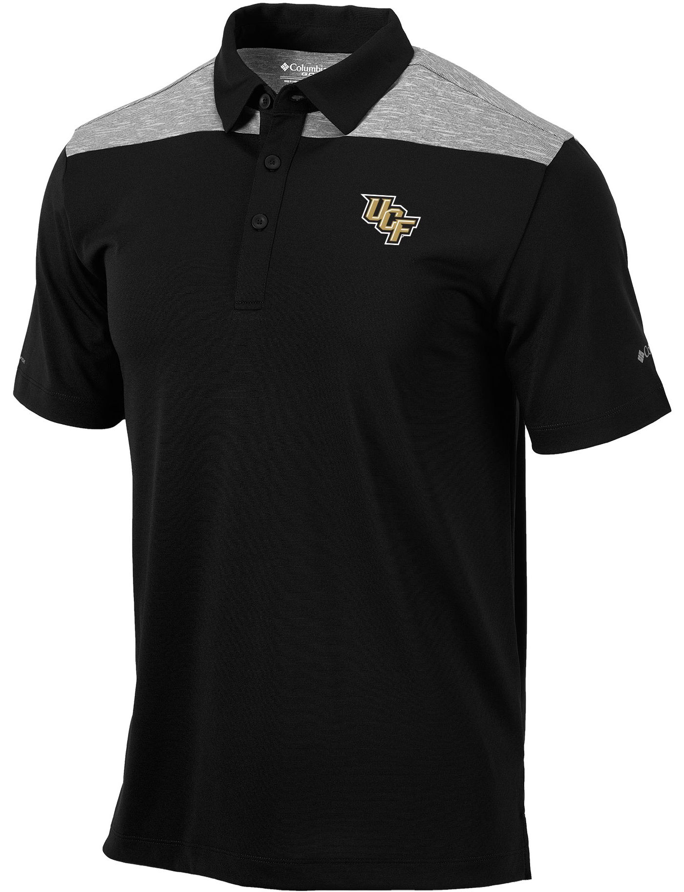 Columbia Men's UCF Knights Black Utility Performance Polo