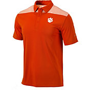 Columbia Men's Clemson Tigers Orange Utility Performance Polo