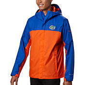 Columbia Men's Florida Gators Blue/Orange Glennaker Storm Jacket