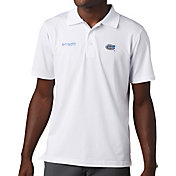 Columbia Men's Florida Gators White Skiff Cast Performance Polo