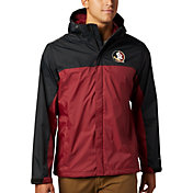 Columbia Men's Florida State Seminoles Glennaker Storm Black Jacket